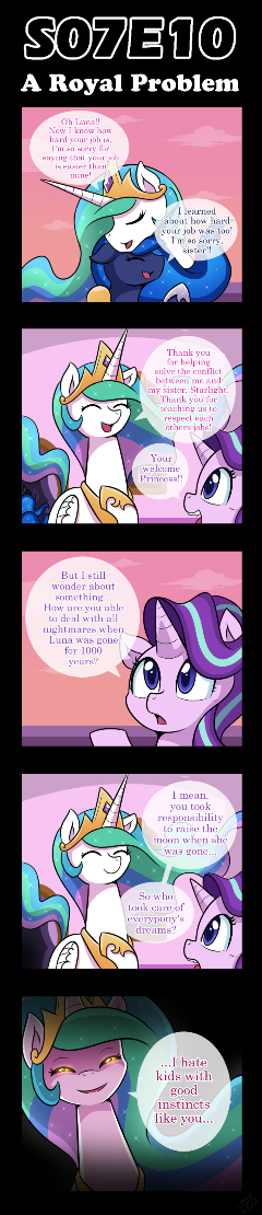 [S07E10] A Royal Problem [Comic]