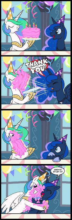Princess Luna's Birthday (Commissioned)