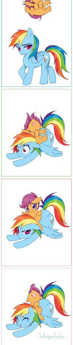 MLP - Dash 'n' Scoot