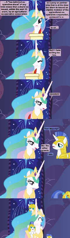 Celestia On Break