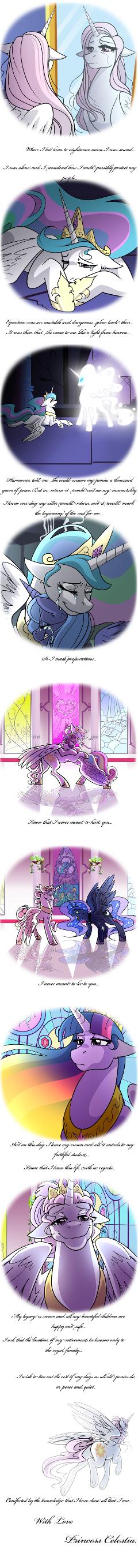 Celestia's farewell