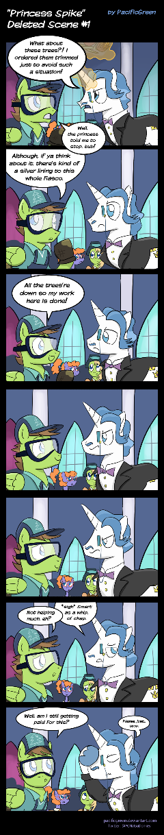 MLP: 'Princess Spike' Deleted Scene No. 1