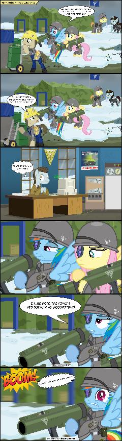 Pony Alert comic