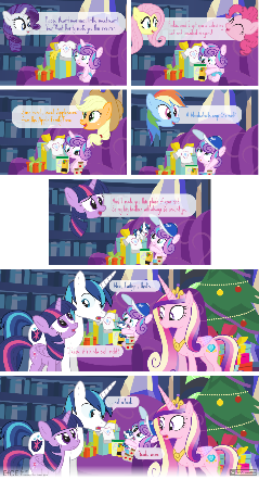 Comic Block: EfCE 22 - Flurry's First H'warming
