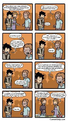 Quand tu rencontres un autre codeur