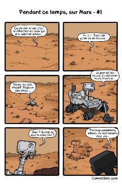 Pendant ce temps, sur Mars – #1