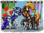 Armored ponies!