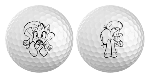 Here's the other two Golf Ball print designs!