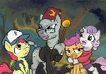 Happy Nightmare Night from all of us at Zecora's Tree The Mystery Shack