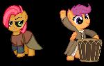 Skyrim Ponies