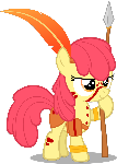 Apple-Warrior (Nightmare Night 2014 Costume)