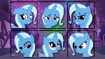 Faces of Trixie
