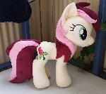 Roseluck plush comission