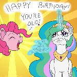 MLP ATG: CELESTIA'S OLD! LOL!!! (Day 15)