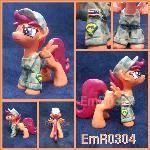 Army Scootaloo