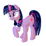 Twilight would have an odd hairdo