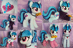 Sonata Pony Plushie with Taco, Socks, and Hoodie