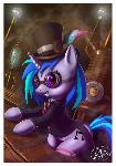 Steampunk Dj Pony