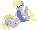 Request: Derpy, Dinkie, and Chirpy
