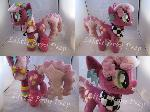 mlp 80s Cheerilee plush (commission)