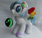 Google Crome Pony V3 Glow-in-the-Dark