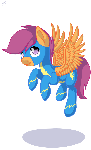 Scootaloo the Wonderbolt.