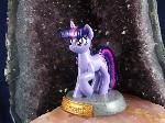 Twilight Sparkle Statuette (left view)