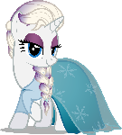 Rari-Elsa (Nightmare Night 2014 Costume)