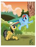 Daring Do and the Flying Cupcake