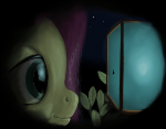 spying fluttershy