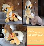 Life-size Applejack plush