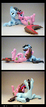 Talcom + Snowflake 3D-Printed Figures