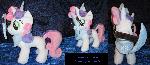 Minecraft Sweetie Belle Plushie