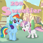 20% Sweetier