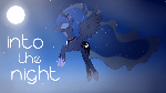 Princess Luna Wallpaper - Into the Night