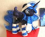 Winter Princess Luna plush