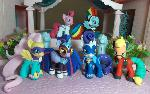 Power Ponies group shot