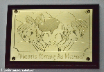 Hearts Strong as Horses -- Commemorative Plaque