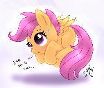 MLP FIM - Scootaloo Try To Fly
