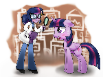 eqg world twilight and pony twilight