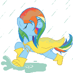 Dashing in the Rain