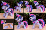 Twilight Sparkle - handmade art-plushie