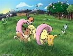 Fluttershy In the Pokemon World