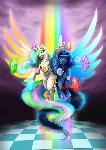 Princess Luna and Celestia - Harmony Wielders