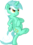 Lyra horse walking
