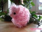 Fluffle Puff Plushie with Button Eyes