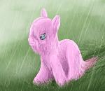 Fluffle puff rain