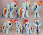 Rainbow Dash Plush - Also For Sale