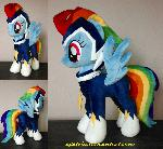 Rainbow Dash as Zap