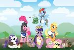 My Little Pony and the Holy Grail - Mane 6